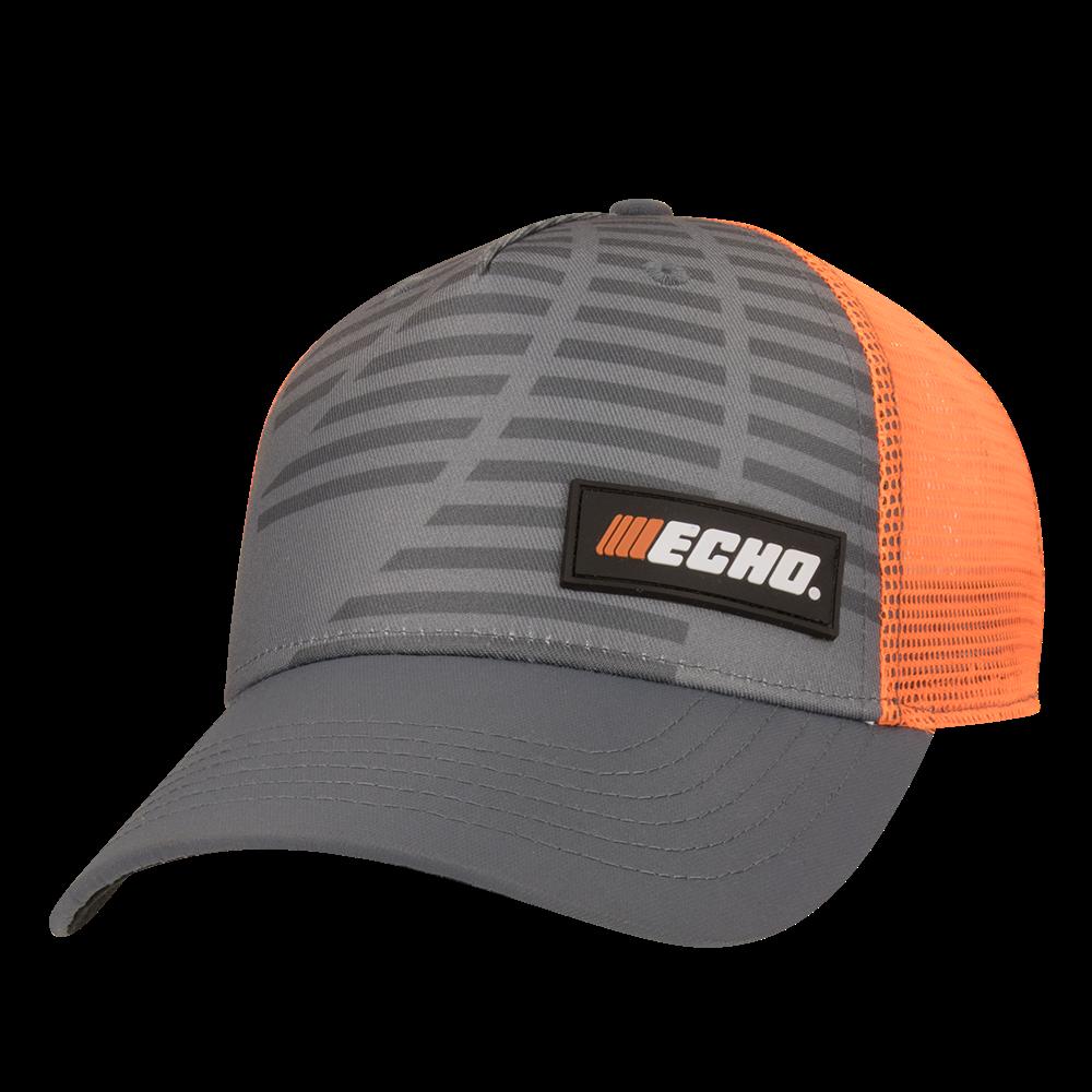 ECHO Cap, Grey/Orange
