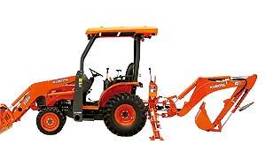 Kubota B Series Tractor-Loader-Backhoe B26TLB 26HP