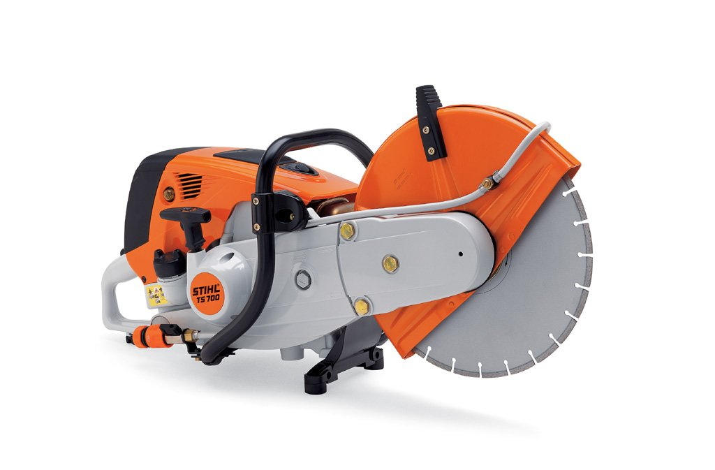 "STIHL Cut-off Saw TS 700 with 14"" wheel"