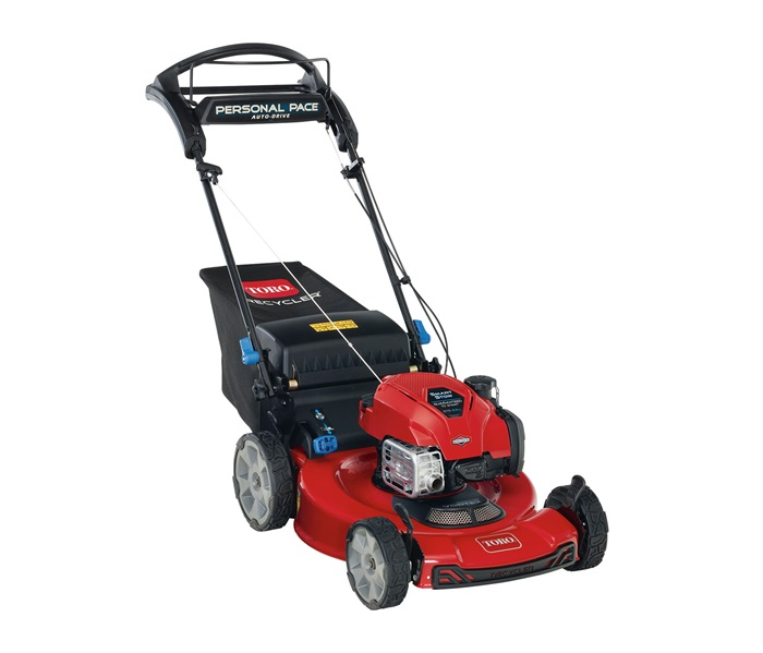 """Toro 21465 Lawnmower Recycler 22"""" Self Propelled with Recoil Start and Smart Stow"""
