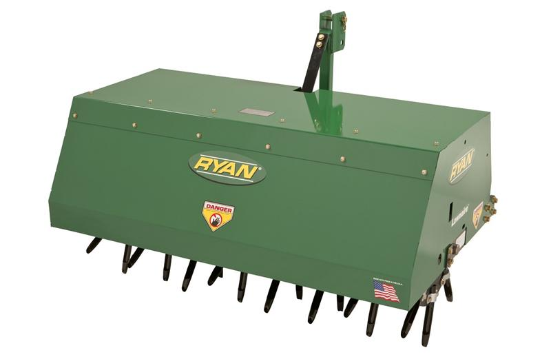"Ryan 48"" 3-Point Hitch Aerator 544876A"