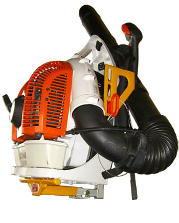 Green Touch Backpack Blower Rack