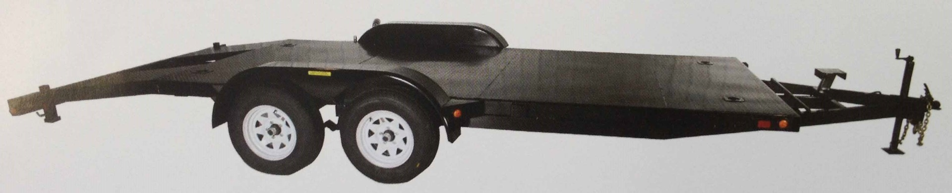 """JDJ Car Carrier Tandem Trailer (6'8"""" W x 18' L) model CC 7000 8018"""