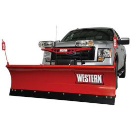 Western 7 5 HTS Snowplow Package with Hand Held Controller