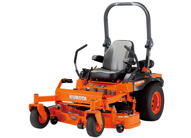 Kubota Z724XKW Commercial 23.5HP Gas Kawasaki Engine Zero-Turn Mower