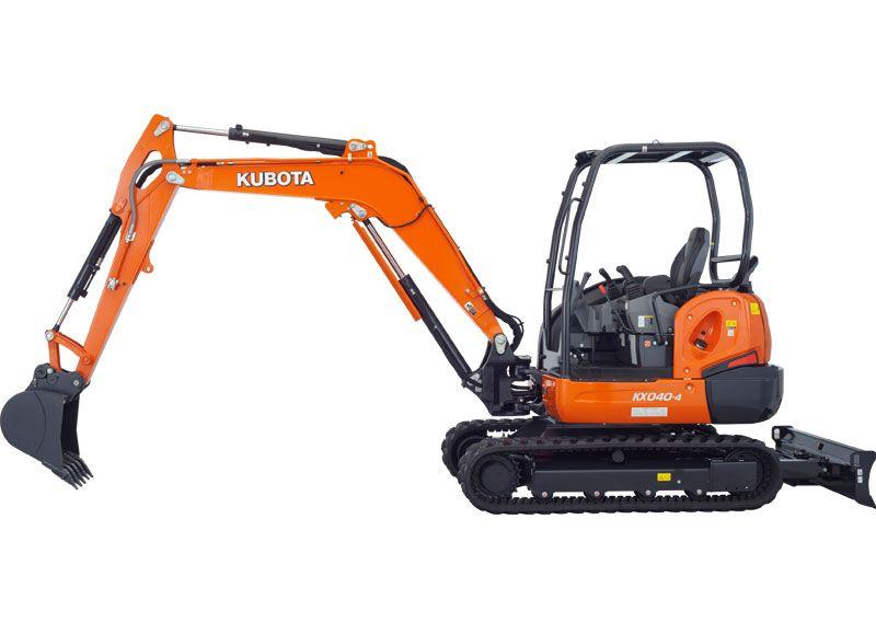 Kubota KX040-4HG Excavator