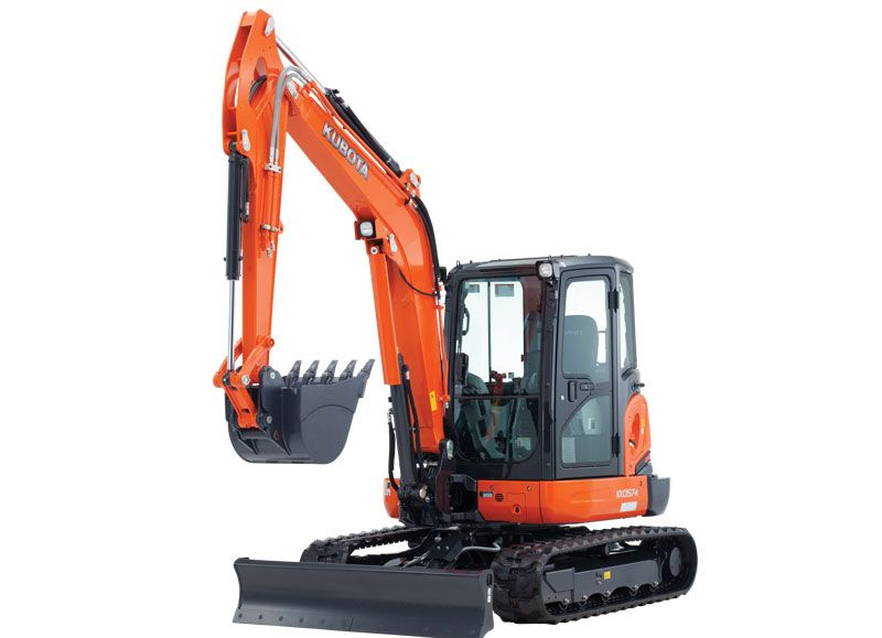 Kubota KX057-4W Excavator 5.7 Ton