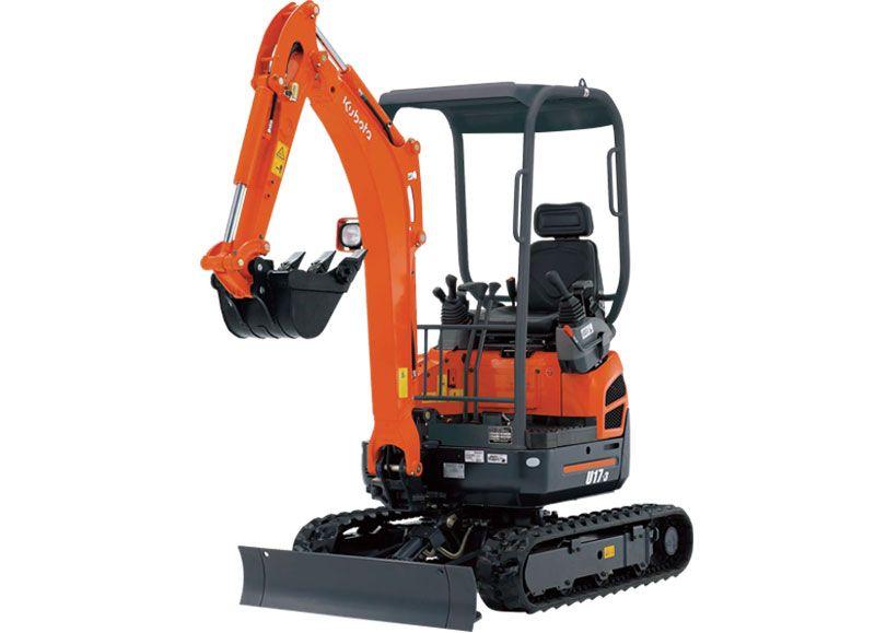 Kubota U17-HGS Excavator 1.7 Ton