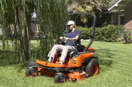 """For outstanding cutting performance, nothing surpasses Kubota's extra-deep mower deck. With depths of 6"""" and 6.5"""", the deepest in the industry, the ZG222 offers the 48"""" deck."""