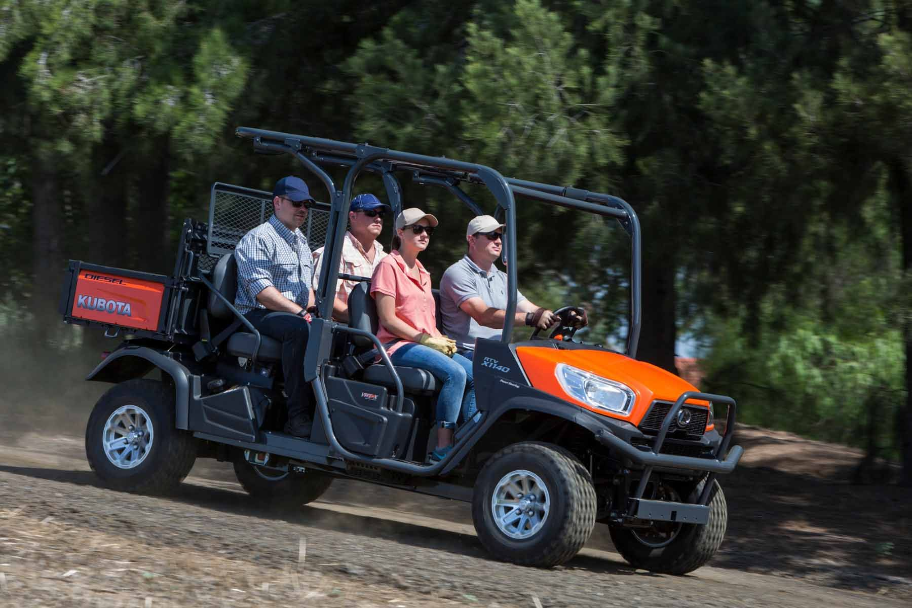 Kubota RTV-X1140 24.8HP Utility Vehicle
