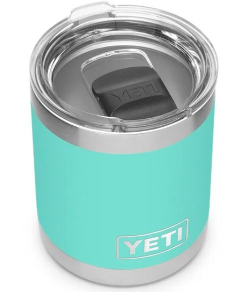 YETI 70000000873 Seafoam 10z Lowball with Magslider Lid