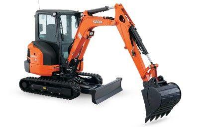 Kubota KX033-4 Compact Excavator