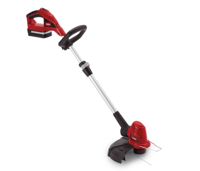 "Toro 12"" 20 Volt Max* Lithium-Ion Trimmer/Edger"