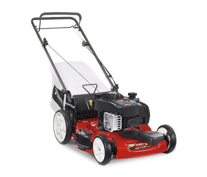 "Toro 21378 Variable speed self propel lawn mower with 11"" high back wheels"