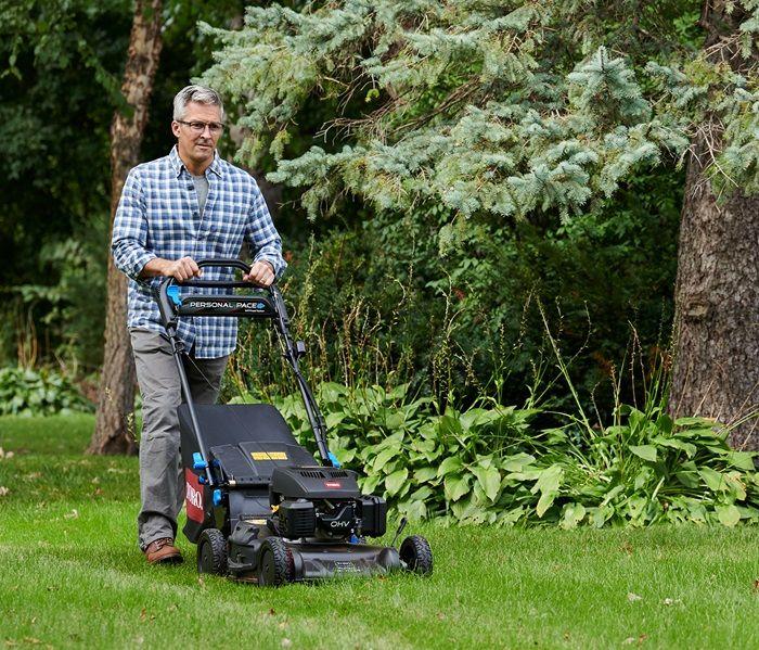Fertilize as you mow