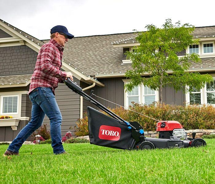 Fertilize your lawn as you mow