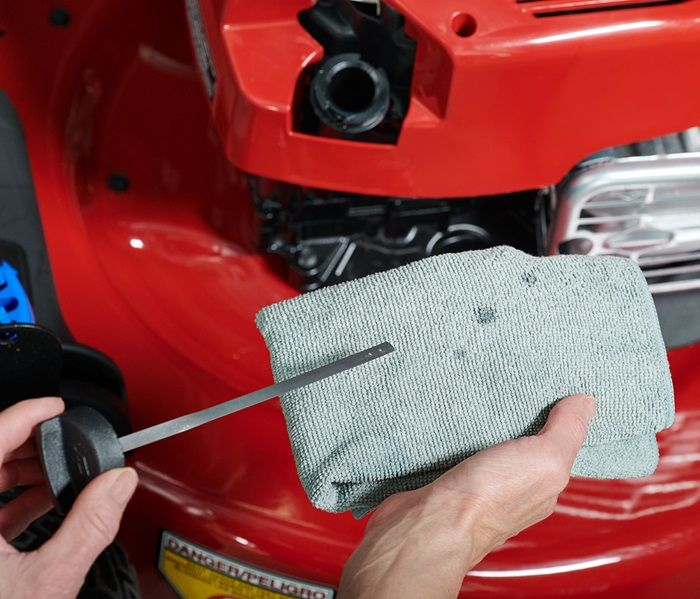 Hassle-Free Maintenance - no oil change - ever. Just check the oil and Top it Off.
