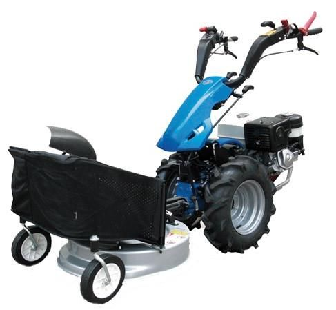 "BCS Lawnmower and 22"" Catcher Attachment"