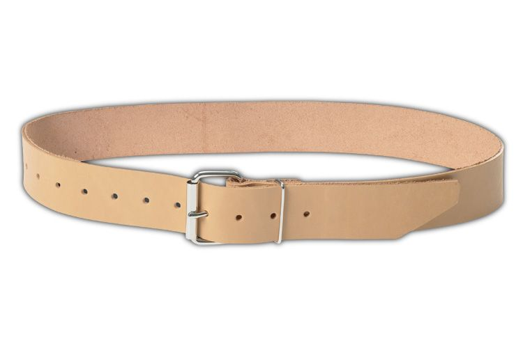 2 inch in width top grain leather belt