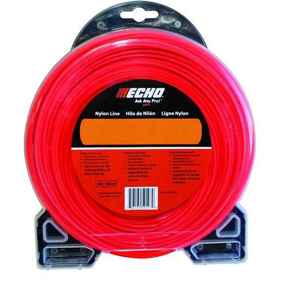 "ECHO .080"" Nylon Cross Fire Trimmer Line"