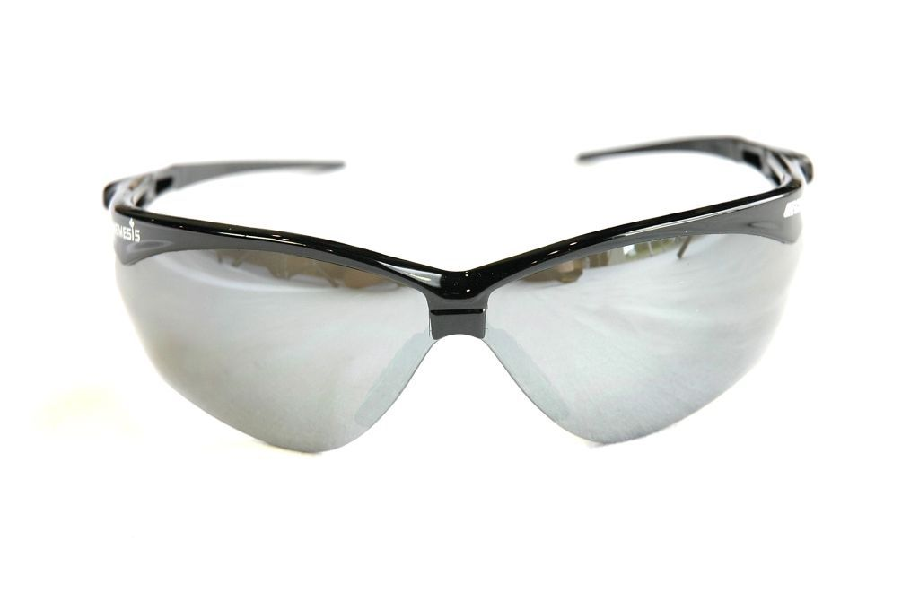 Echo Nemesis Safety Glasses Black/Smoke