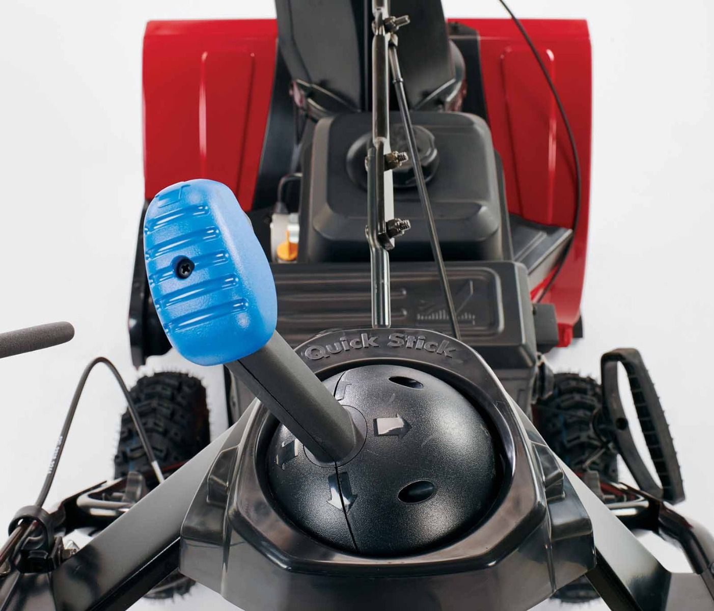 Quick Stick® Chute Control - Innovative joystick control allows you to change chute direction and angle quickly and easily, on the go