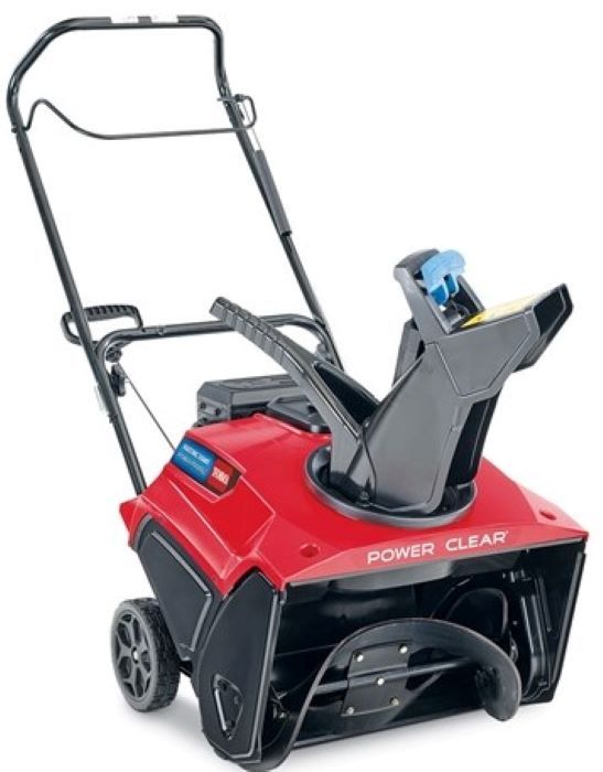 Toro 38752 Snowthrower Power Clear 721 R Single-Stage Recoil Start