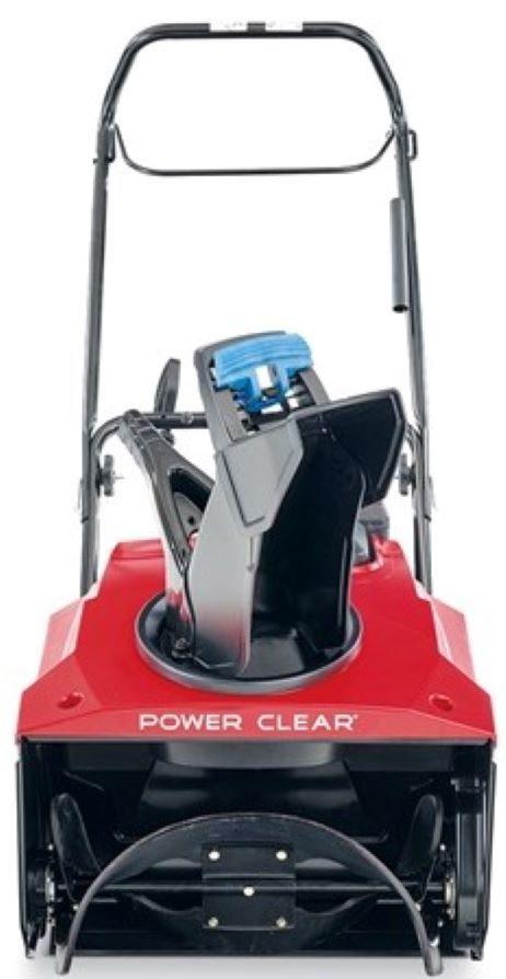 Efficiently shreds through snow while reducing clogging with the curved rubber paddles and housing of Power Curve® Technology.