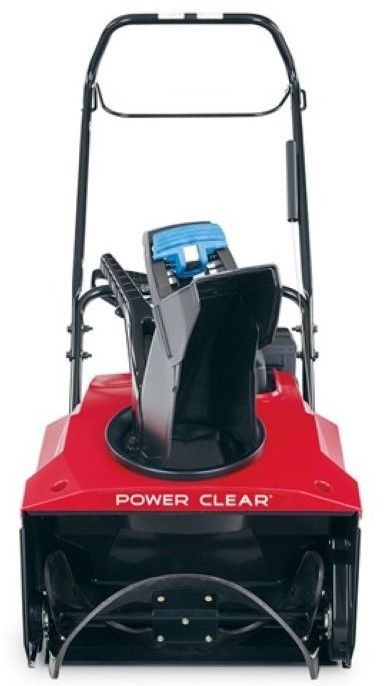 Toro 38755 Power Clear 821 R-C Single-Stage Recoil Start Snowthrower