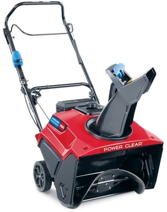 Toro 38756 Snowthrower 721 QZE Power Clear Single-Stage Electric Start