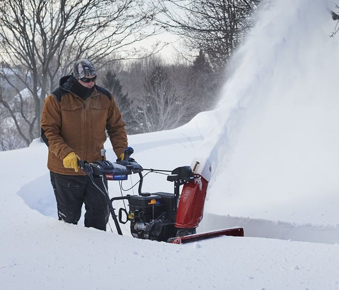 Tight Spaces? Place the snow with greater precision, such as right next to your fence line, or throw the distance with a double deflector.
