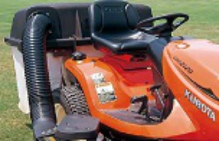 Kubota 3 Bag Grass Catcher for Tractor