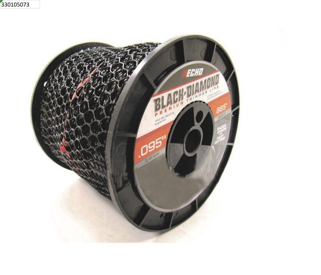 ECHO .095 Black Diamond Trimmer Line 3lb Roll