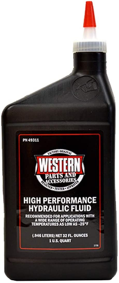 Western High Performance Hydraulic Fluid 1 Qt. Bottle