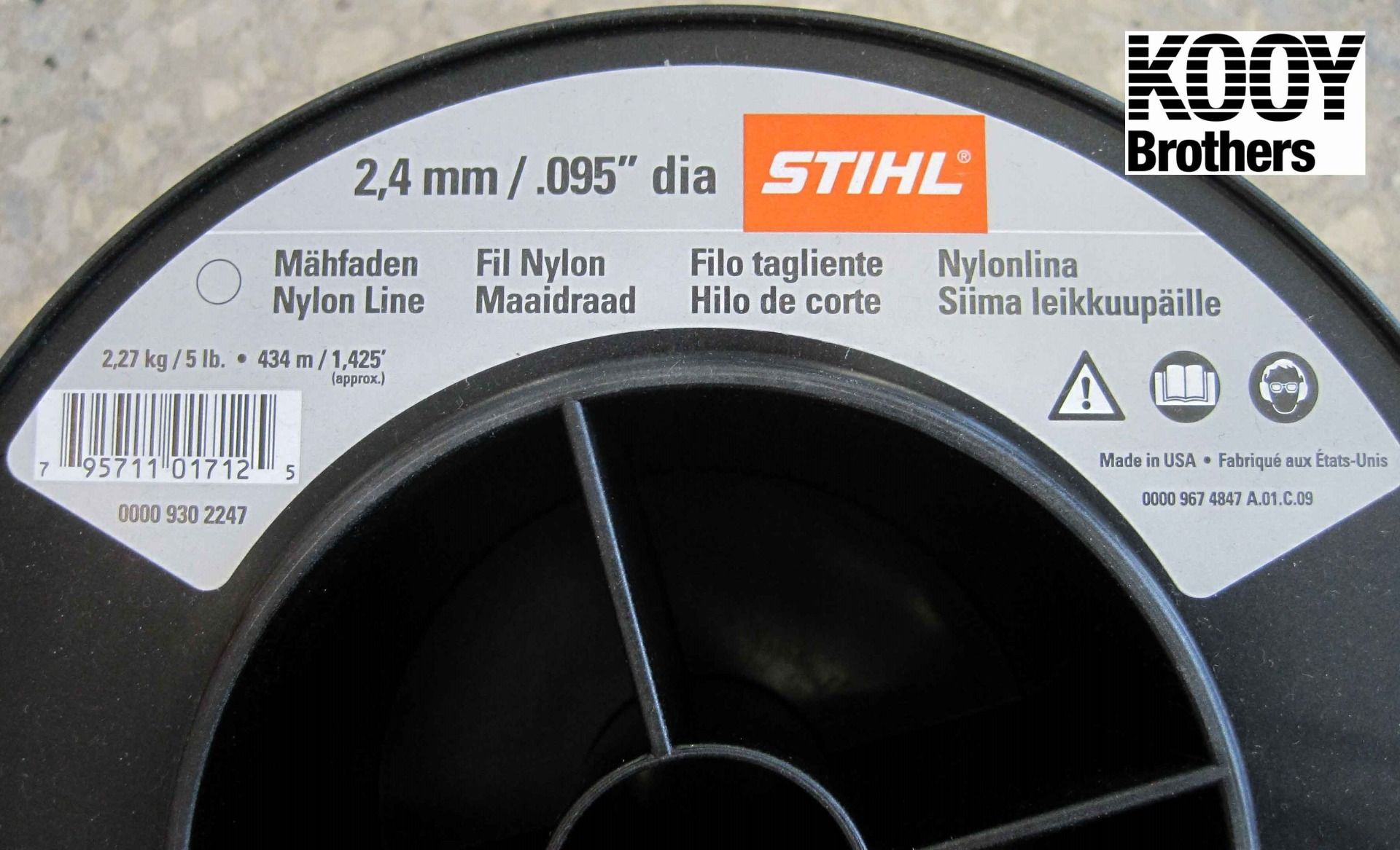 STIHL .95 Trimmer Line 5lb Roll
