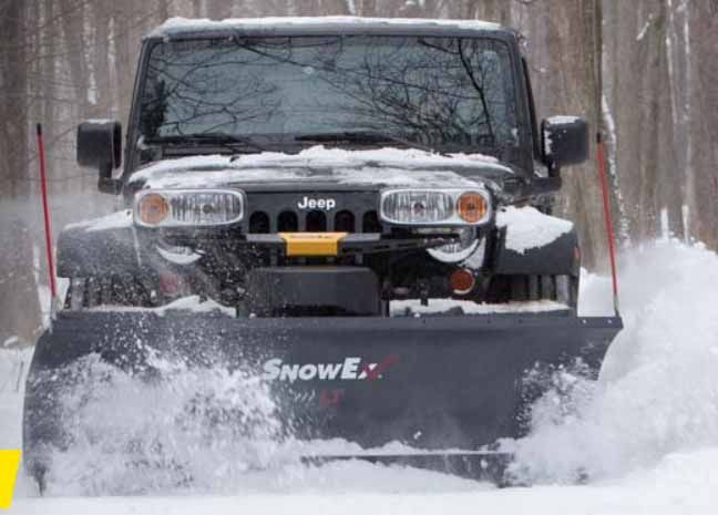 "SnowEx 7200LT 7'2"" Light Duty Straight Blade Plow"