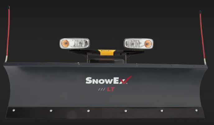 SnowEx boasts a high-performance, multi-stage powder coat system which provides a long-lasting, maintenance-free finish.