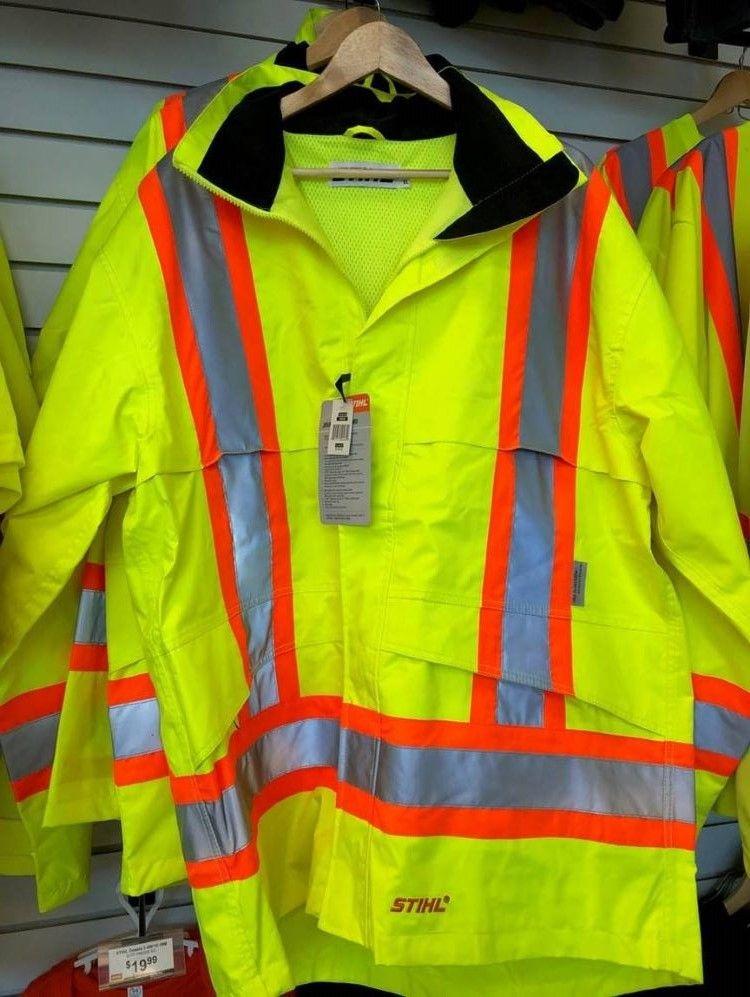 STIHL Jacket Deluxe Waterproof Safety Reflective