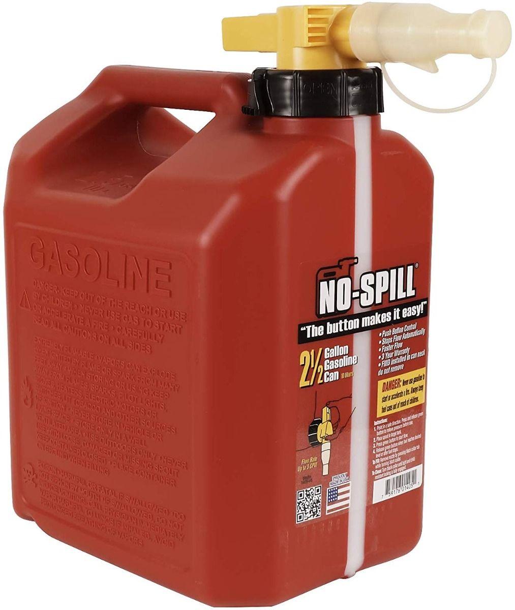 Stens 10L Regular No-Spill Gas Can