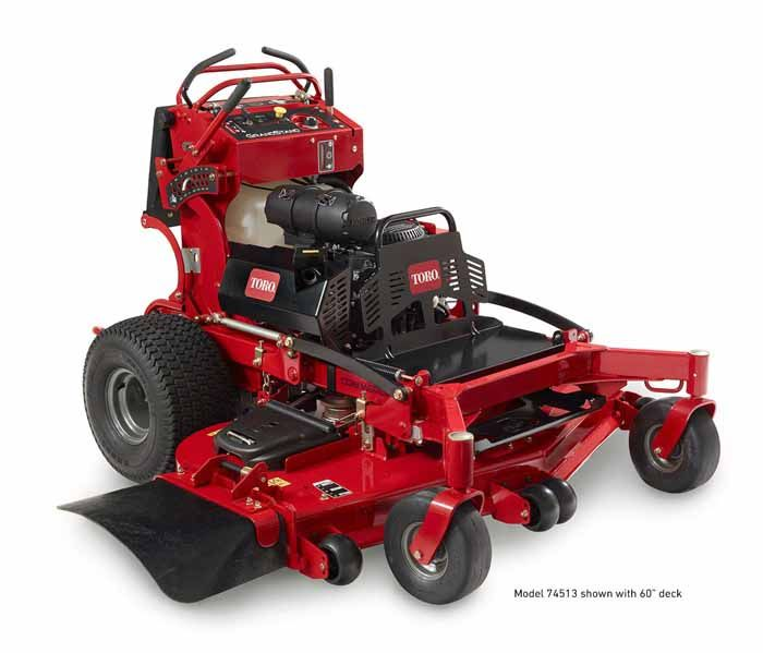 "Toro 74523 60"" Grandstand Multi Force Stand-on Mower"