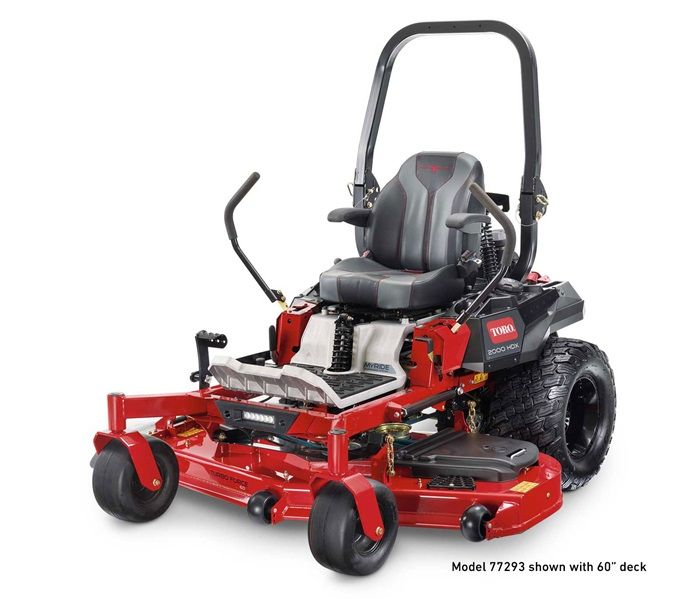 """Toro 77290 Zero Turn Mower MyRIDE® HDX 52"""" 2000 Series"""