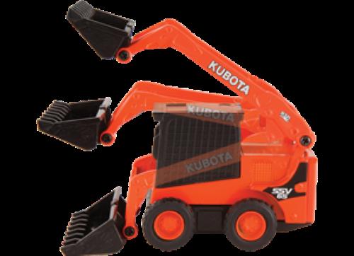 Kubota Diecast SSV65 Pull-Back Toy