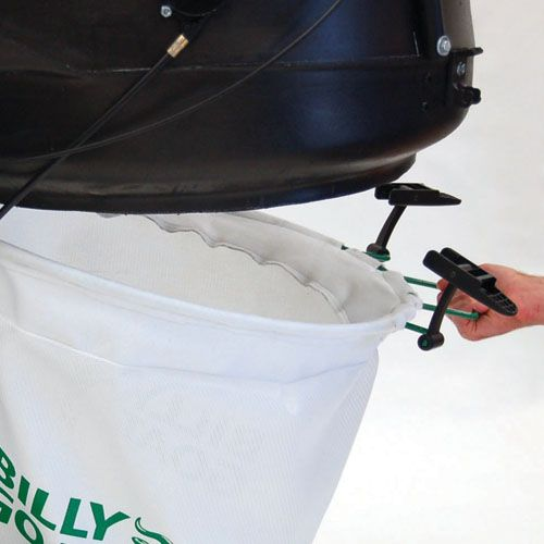 2-Latch Bag System - Loading and unloading is fast and easy