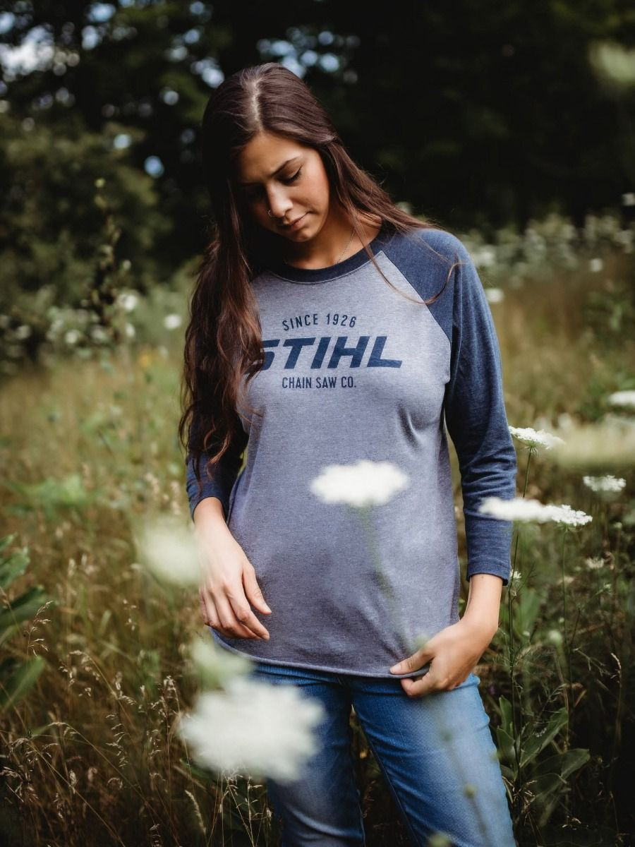 STIHL Ladies Raglan Sleeve Shirt