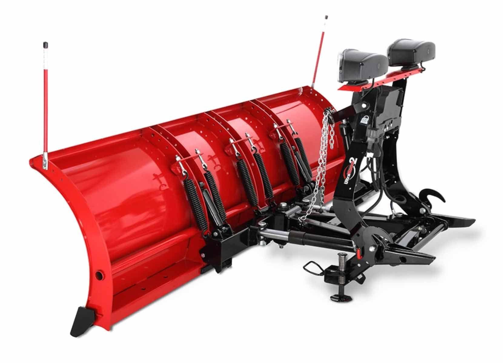 Western 9' Oscillation Skid Steer PRO Plow