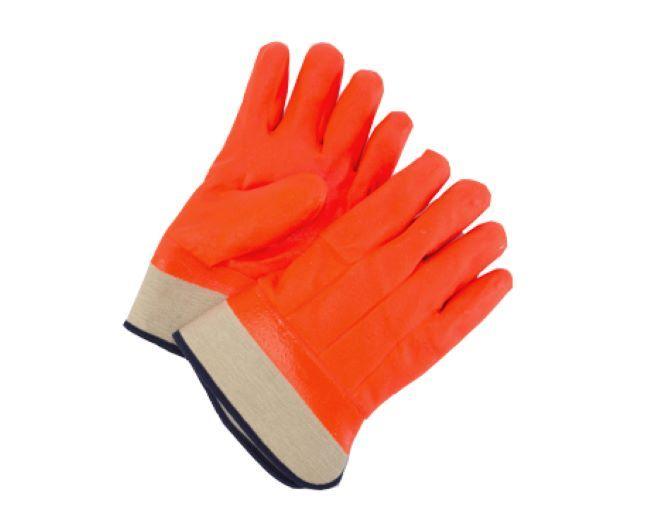Foam Insulated Orange T-Foam Safety Gloves