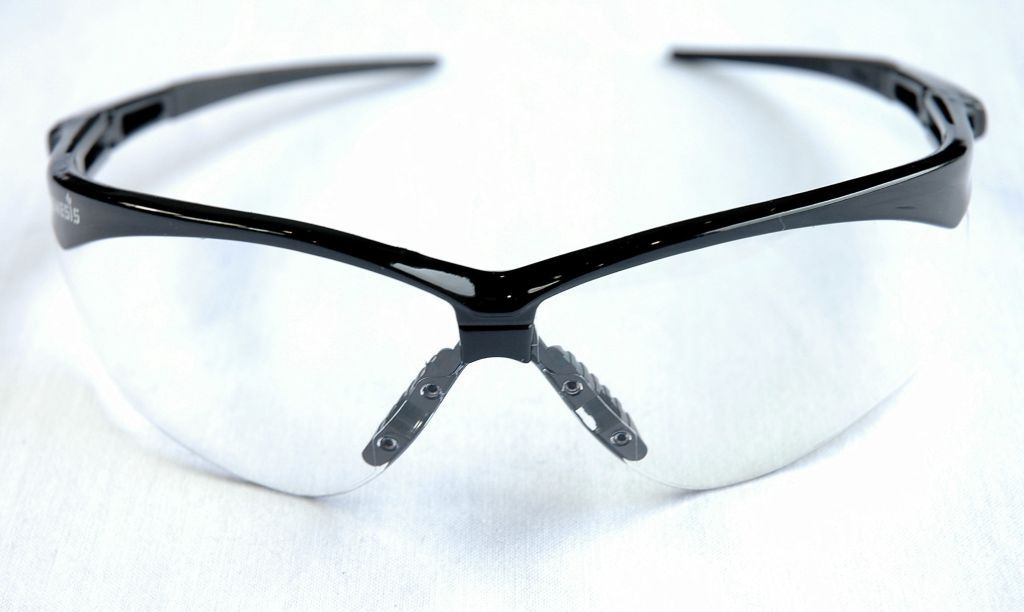Echo Nemesis Safety Glasses Black/Clear