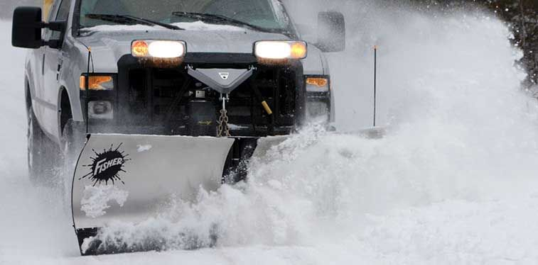 """The blade is a full 31"""" high for plowing through the deepest snows"""
