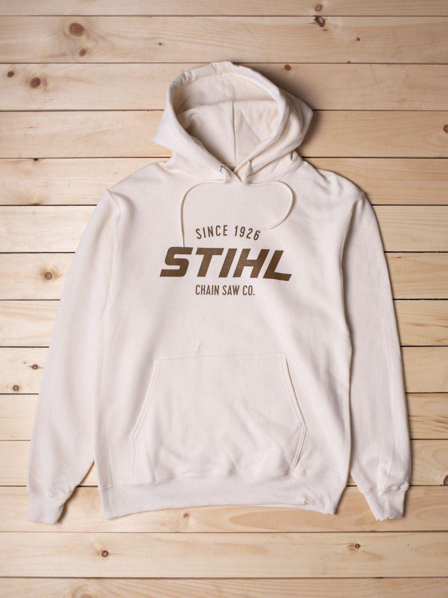 STIHL Ladies White Hooded Sweatshirt