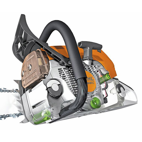 The STIHL anti-vibration system helps reduce operator fatigue and provides a more comfortable working experience.